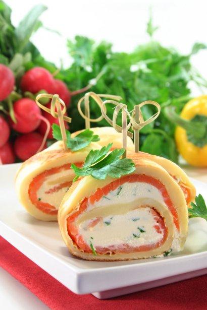 Lachs-Pfannkuchen